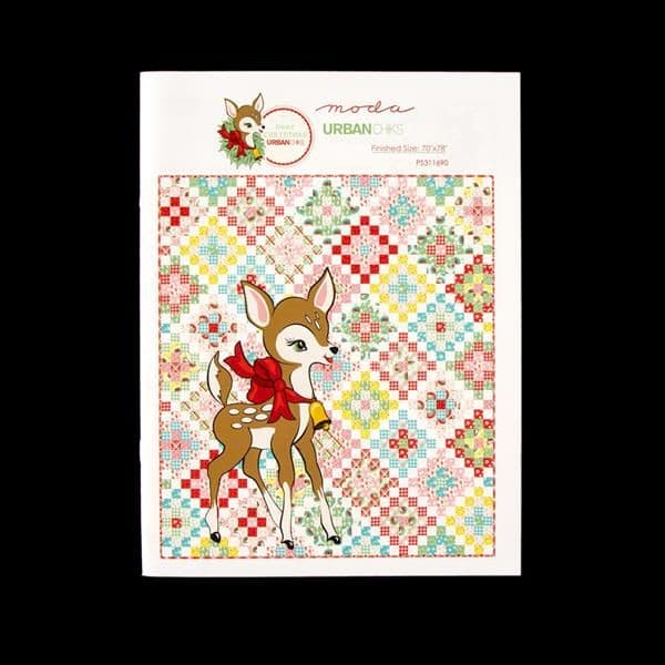 Deer Christmas Quilt Project/Pattern Sheet By Moda