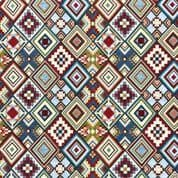 New World Tapestry Fabric - Little Aztec