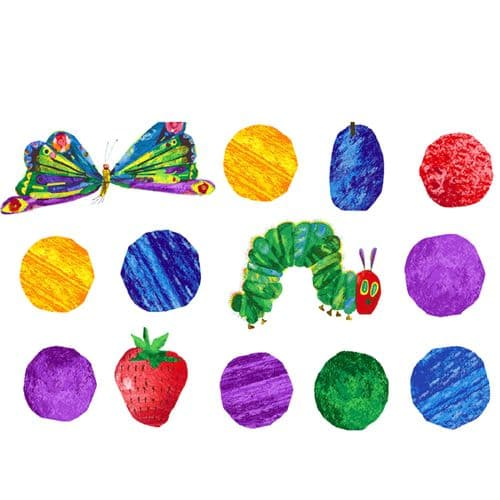 The Very Hungry Caterpillar Fruit And Dots