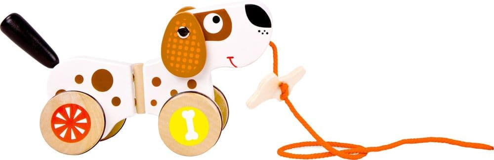 Dog Pull-Along Toy