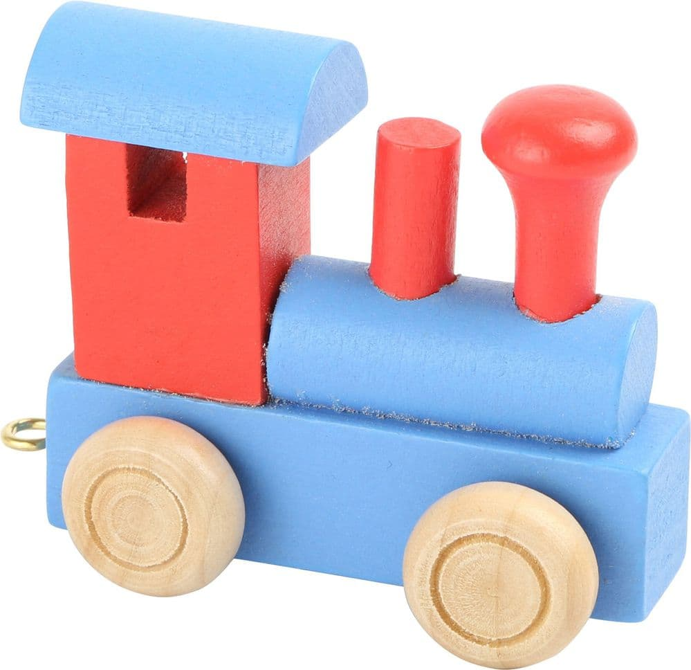 Letter Train, Red & Blue
