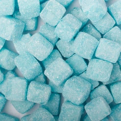 Blue Raspberry Cubes 150g Bag