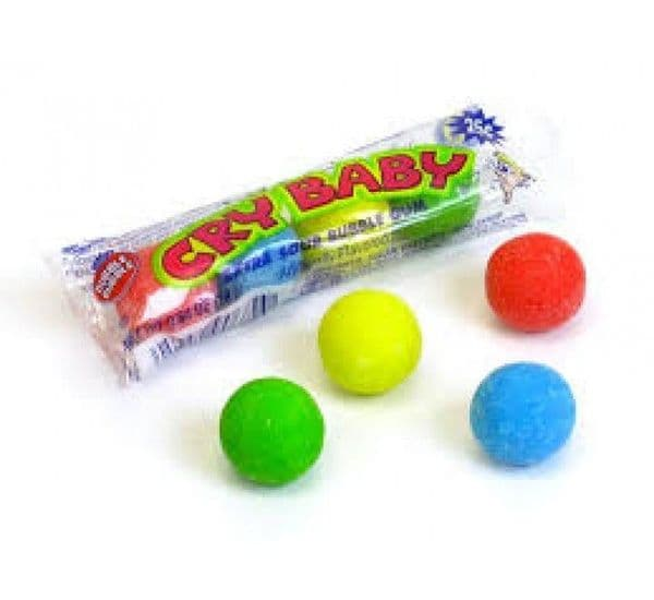 Cry Baby Extra Sour Gum 18g