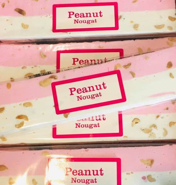 Peanut Nougat Bar