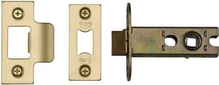 M Marcus York Security YKAL2-SB Architectural Mortice Latch 64mm Satin Brass