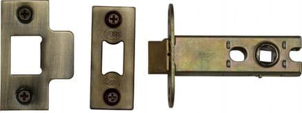 M Marcus York Security YKAL3-AT Architectural Mortice Latch 76mm Antique Brass