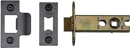 M Marcus York Security YKAL3-BLK Architectural Mortice Latch 76mm Black