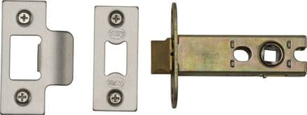M Marcus York Security YKAL3-SN&SC Architectural Mortice Latch 76mm Satin Nickel/Chrome