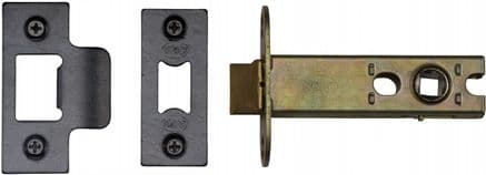 M Marcus York Security YKAL4-BLK Architectural Mortice Latch 102mm Black