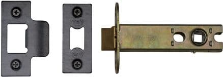 M Marcus York Security YKAL5-BLK Architectural Mortice Latch 127mm Black