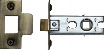 M Marcus York Security YKTL2-AT Mortice Latch 64mm Antique Brass