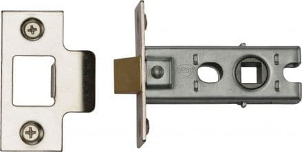 M Marcus York Security YKTL2-PC&PN Mortice Latch 64mm Polished Chrome/Nickel