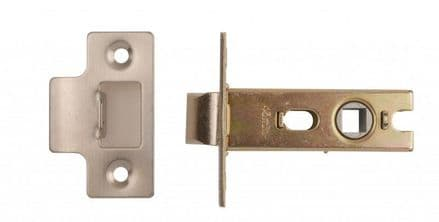 Excel Hardware  2171-BT Tubular Mortice Latch 76mm  Nickel Plated
