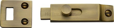 M Marcus Heritage Brass  C1686-AT Slide Bolt 66mm Antique Brass