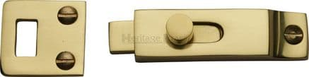 M Marcus Heritage Brass  C1686-PB Slide Bolt 66mm Polished Brass