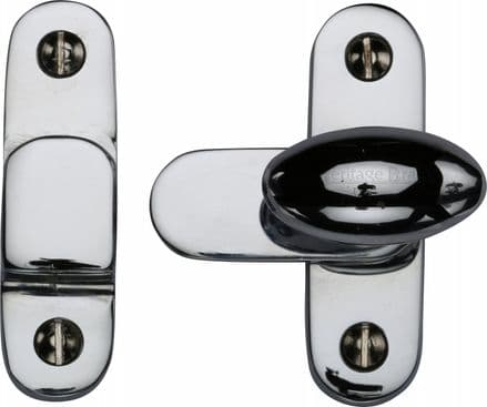 M Marcus Heritage Brass  V1970-PC Cabinet Hook and Plate Polished Chrome