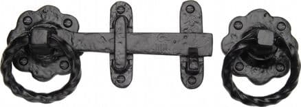 M Marcus Tudor Collection TC543 Gate Latch Black Antique