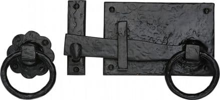 M Marcus Tudor Collection TC570 Gate Latch Black Antique