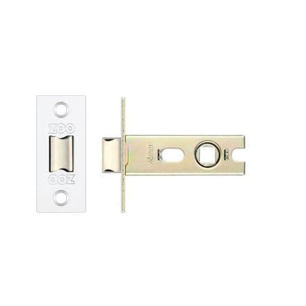 Zoo Hardware PRTL64PS Bolt Through Mortice Latch 64mm Polished Stainless Steel