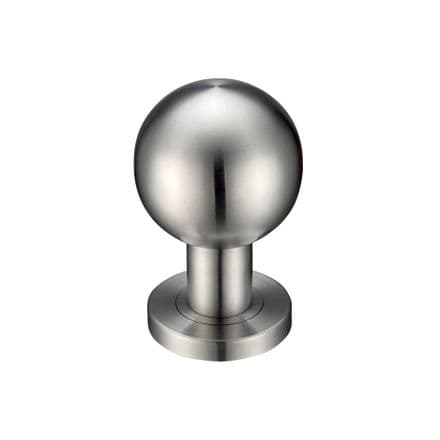 Zoo Hardware ZPS200SS Ball Mortice Knob Satin Stainless Steel