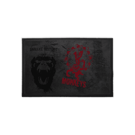 Army Of The 12 Monkeys Graffiti Symbol Welcome Doormat
