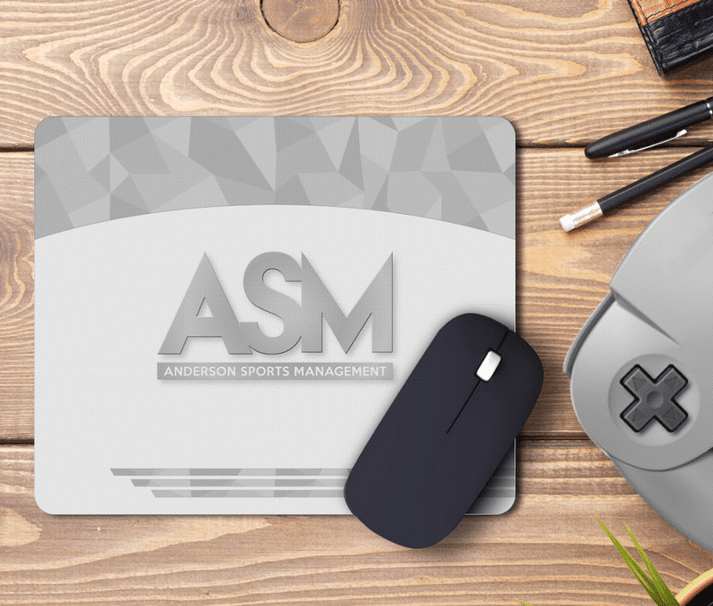 ASM Anderson Sports Management Mouse Mat Inspired by Ballers