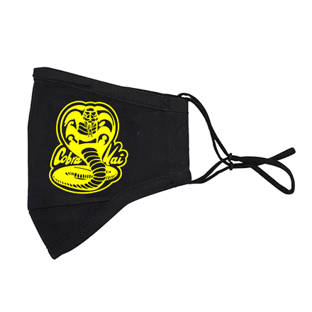 Cobra Kai Design Washable 3 Layer Face Mask Covering