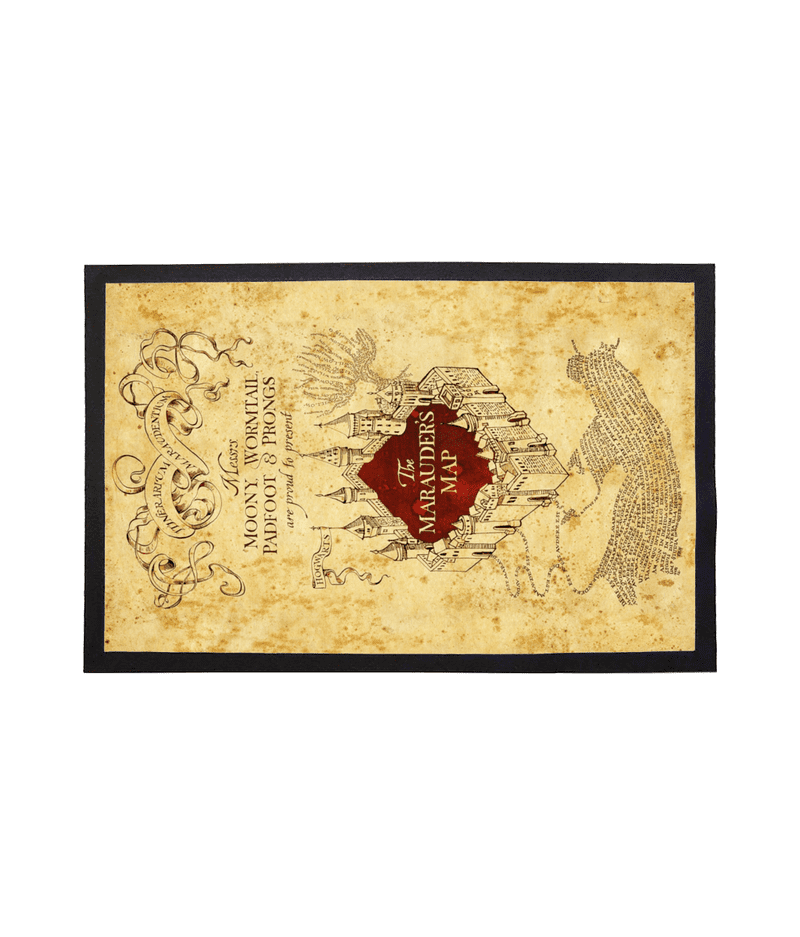 Doormat The Marauders Map Welcome Mat from Harry Potter