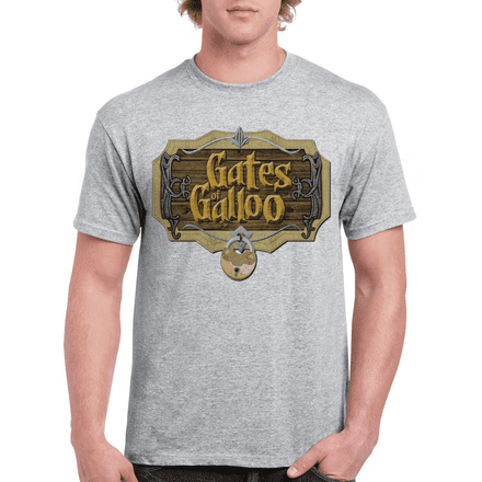 Gates of Galloo Game Pied Piper Silicon Valley inspired T Shirt