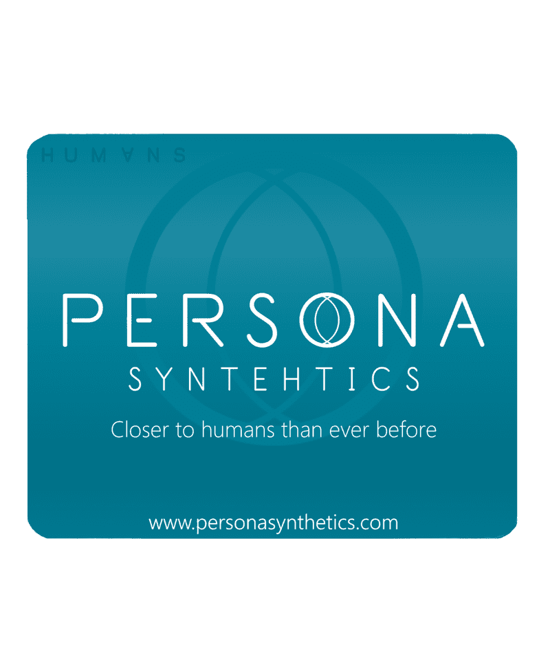 Humans Persona Synthetics Mouse Mat Pad