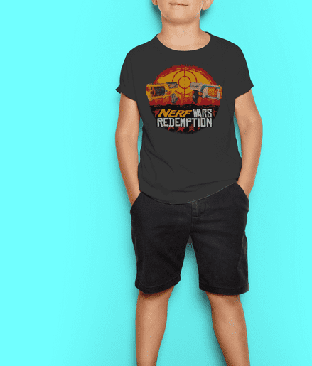 Nerf Wars Redemption Kids T-Shirt