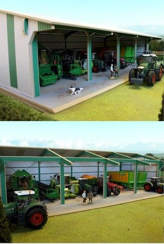 Euro Style Tractor & Machinery Shed