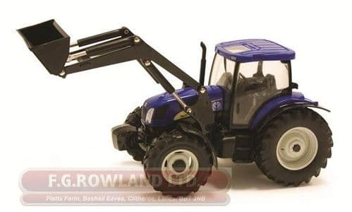 NEW HOLLAND T6020 TRACTOR & LOADER