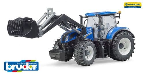 New Holland T7.315 Tractor and loader