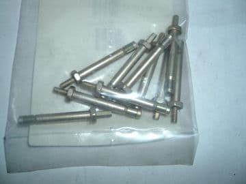 "10 Avdel Type Jo-Bolts 3/16"" Diameter 1"" Long Part Number  AGS 3817-616 [A2]"