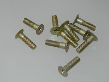 """10 x 2BA Bolts Countersunk Phillips Head Length 1/16"""" Part Number AS3297-2C [D1]"""