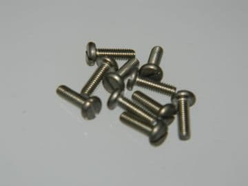 10 x M2.5 Screws Length 8mm Stainless Steel Pan Headed Part A262-2508 [AH6]
