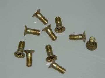 10 x M4 Bolts Countersunk Cross Head Length 10mm [C11]