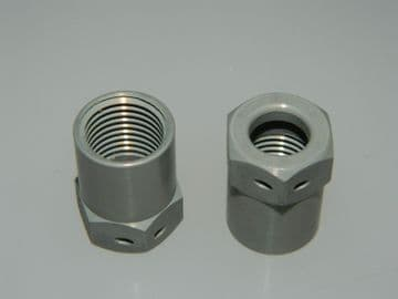 """2 x 1/2"""" UNF Alloy Union Outer Sleeve Pipe Diameter: 11/32"""" AGS900-01FR  [A14]"""