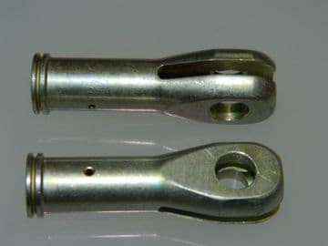 "2 x 5/16"" BSF Tie Rod Ends Fork Joint HT Steel Length: 2 5/32"" Part SP7Y-G [A15]"