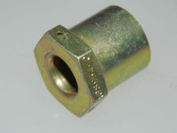 """3/8"""" BSP Nut Union Outer Sleeve Mild Steel Cadmium Plated Part AGS954-C [D10]"""