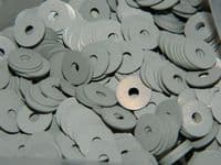 "4oz x Rivet Burr Washers Aluminium Inside Diameter 1/8"" Part SP58-C [S15]"