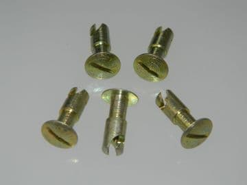 "5 x 1/4"" Dzus Long Undercut Quarter Turn Fasteners Length 0.6"" AJ4-60 [E8]"