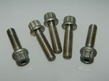 """5 x 1/4"""" UNF Double Hex Head Bolts Fastener Length 15/16"""" Part AS48515 [I5]"""