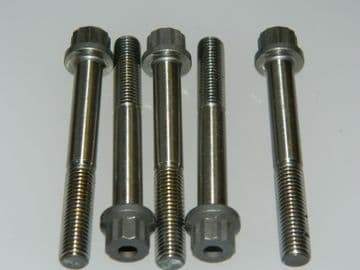 """5 x 1/4"""" UNF Double Hex Head Bolts Length 1 15/16"""" Part AS21031 [G3]"""