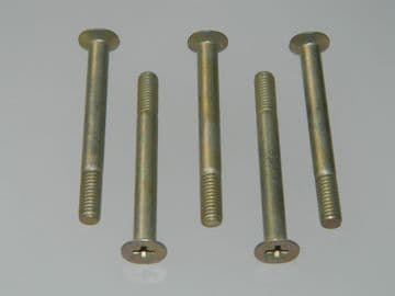 """5 x 2BA Bolt Countersunk Phillips Head Length 1 3/4"""" Part Number AS3297-13C [A2]"""