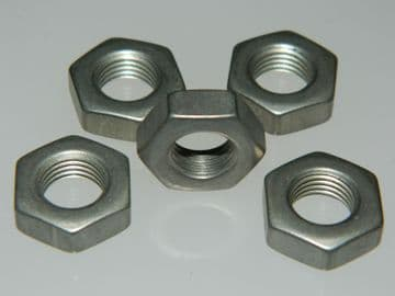 """5 x 5/16"""" UNF Nuts Full Chamfered Finish Steel Alloy 304 Part AN924-3S [G15]"""