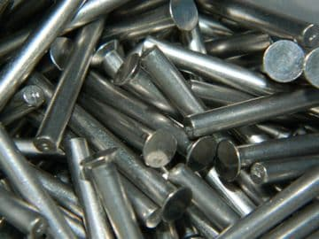 "50 x Solid Rivets Monel 1/8"" Diameter Length 1 3/8"" Part No. SP87-422 [G17]"