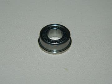 Flanged Enclosed Roller Bearing Inside Diam 6.4mm Outside Diam 12.75mm [AE9]