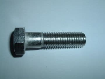 M12 Stainless Steel Hex Headed Machine Bolt 45mm Long Coarse Thread A2-70 [E10]